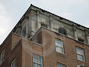 Brick Building Royalty Free Stock Photo - Image: 8598775