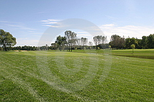 Golf Course Royalty Free Stock Image - Image: 8598846