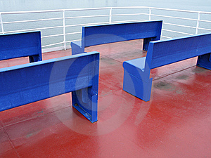 Blue Seats Royalty Free Stock Photos - Image: 8598848