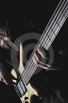 The Electroguitar Royalty Free Stock Photography - Image: 8598897