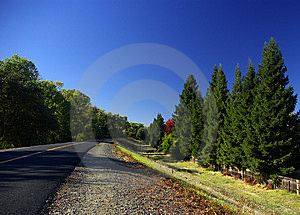 A Long Way Stock Images - Image: 8599044