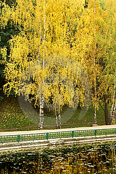 Autumn Park 3 Royalty Free Stock Photos - Image: 8599298