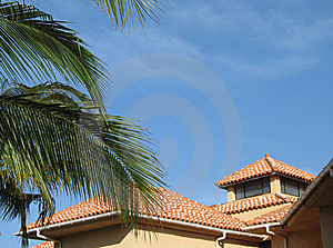 Clay Roof Royalty Free Stock Photography - Image: 8599477