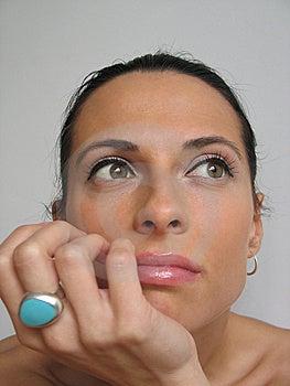 Woman Portrait Stock Images - Image: 8599624