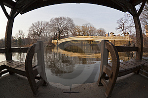Bow Bridge Stock Images - Image: 8599714