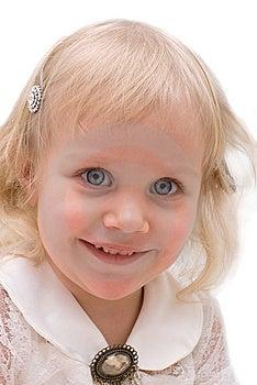 Little Beautiful Girl Royalty Free Stock Photo - Image: 8599785