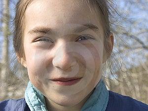 Smiling Girl III Royalty Free Stock Photos - Image: 862708