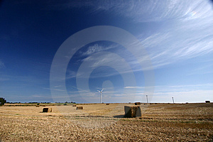 Wind Mill Royalty Free Stock Image - Image: 864336