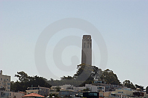 Coit Tower Royalty Free Stock Images - Image: 865089