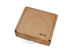 Cardboard Box 1 Free Stock Images