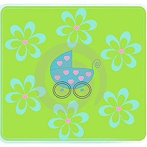 Pram For Newborn. Royalty Free Stock Photo - Image: 8600225