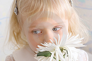Little Beautiful Girl Royalty Free Stock Photography - Image: 8600257