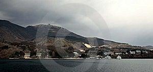 Panoramic View From Hakone Lake Royalty Free Stock Photos - Image: 8600278