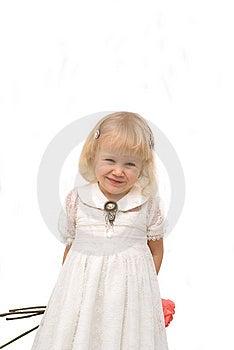 Romantic Little Girl Royalty Free Stock Photos - Image: 8600298