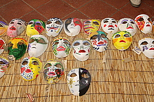 Italian Masks Stock Photos - Image: 8600333
