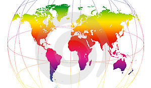 Spectrum Of World Stock Image - Image: 8600671