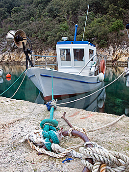 αλιεία βαρκών παλαιά Στοκ Φωτογραφίες - εικόνα: 8600773