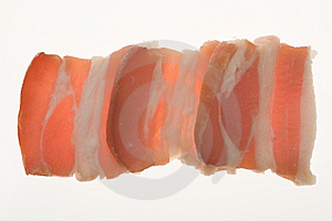 Slides Of Bacon Stock Photo - Image: 8600940