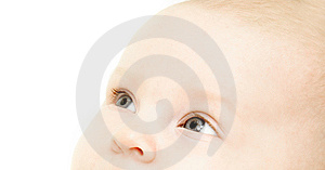 Close Up Baby Portrait Stock Photography - Image: 8601162