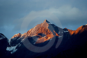 Day View Of Siguniang (Four Girls) Mountains Stock Image - Image: 8601381