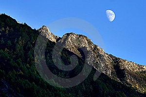 Day View Of Highland At Sichuan Province China Stock Photo - Image: 8601410