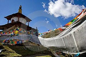 Day View Of Stupa At Tagong Sichuan Province China Royalty Free Stock Photo - Image: 8601445
