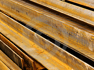 Corner Metal In A Stack Royalty Free Stock Photos - Image: 8601718