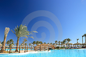 Egyptian Hotel Stock Image - Image: 8601731