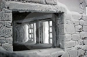 Window Into The Unknown Royalty Free Stock Photography - Image: 8601747