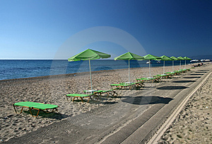 Beach Umbrellas Stock Photography - Image: 8601792