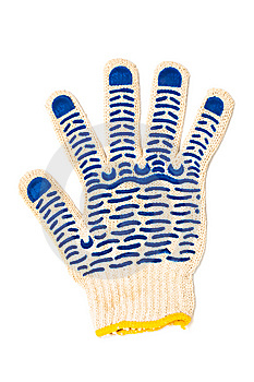 Protective Gloves Royalty Free Stock Images - Image: 8601849