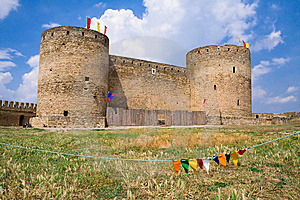 Old Fortress Stock Image - Image: 8602261