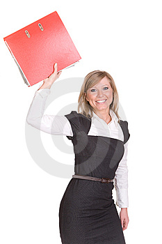 Businesswoman Royalty Free Stock Photography - Image: 8602907