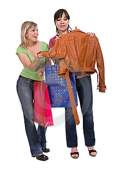 Shopaholics Royalty Free Stock Photos - Image: 8602938