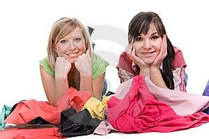 Shopaholics Royalty Free Stock Image - Image: 8602946