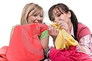 Shopaholics Royalty Free Stock Images - Image: 8602949