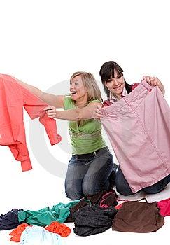 Shopaholics Stock Image - Image: 8602961