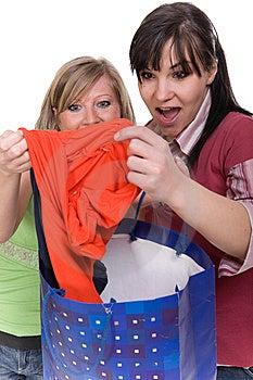 Shopaholics Stock Image - Image: 8602981