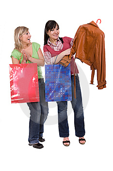 Shopaholics Royalty Free Stock Image - Image: 8602996