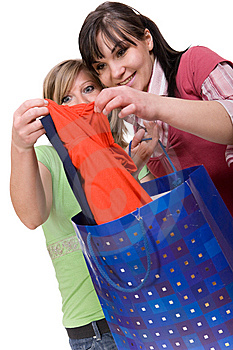 Shopaholics Royalty Free Stock Photography - Image: 8602997
