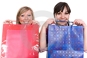 Shopaholics Royalty Free Stock Images - Image: 8602999