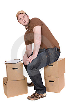 Delivery Royalty Free Stock Photography - Image: 8603047