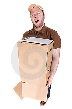 Delivery Stock Photography - Image: 8603052