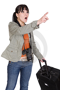 Traveling Woman Royalty Free Stock Photos - Image: 8603108