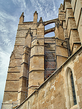 Cathedral Of Palma De Mallorca, Spain Royalty Free Stock Images - Image: 8603179