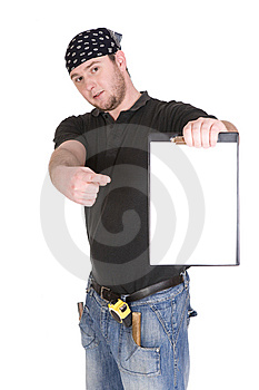 Worker Royalty Free Stock Photos - Image: 8603198