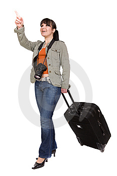 Traveling Woman Stock Photography - Image: 8603272