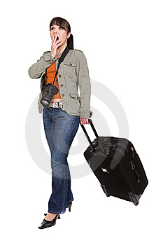 Traveling Woman Royalty Free Stock Photos - Image: 8603278