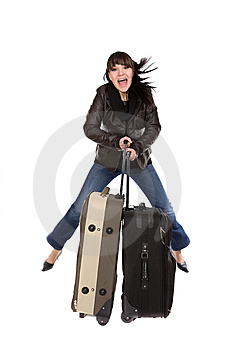 Traveling Woman Stock Photos - Image: 8603283