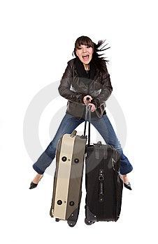 Traveling Woman Stock Photos - Image: 8603283